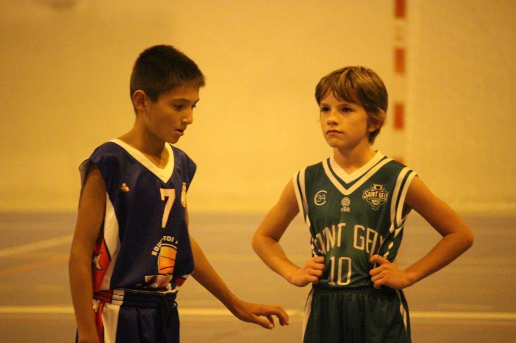Romain (à droite) retrouvait son ancien coéquipier Max, désormais à la Mosson